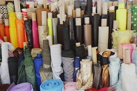 different types of fabrics