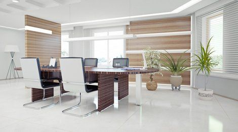 stylish office space