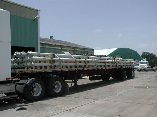 LDPE Pipes — Fabrication in Galveston, Tx