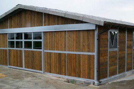 external horse stable
