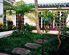 Exterior landscaping example in Haleiwa