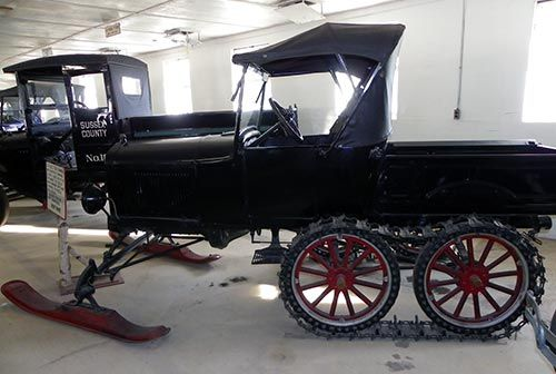 Snow Car - Historic Cars - Space Farms Museum