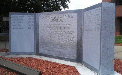 granite tombstones Winston-Salem, NC