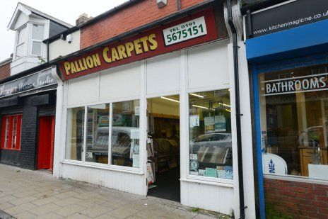 Exterior of Pallion and Southwick Carpets