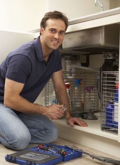 A man supplying plumbing services in Christchurch