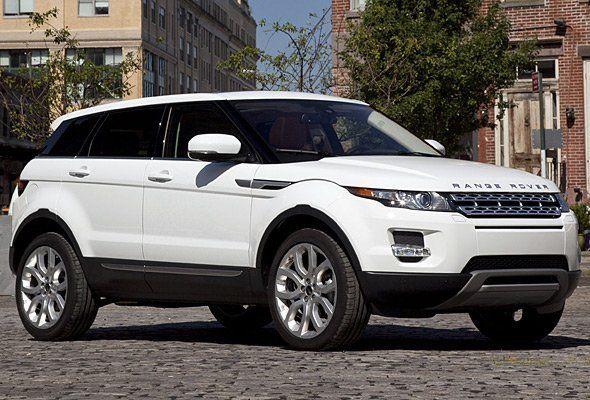 un Range Rover bianco