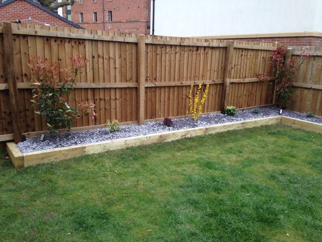 Affordable garden fences and walls in Warrington