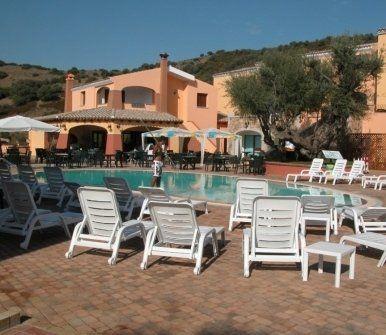 albergo, piscina, residence