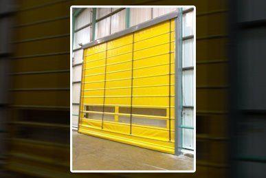 Rapid action doors