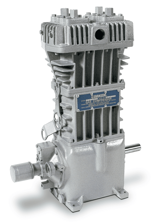 Corken Vertical Industrial Compressor, Artesia NM & Houston TX
