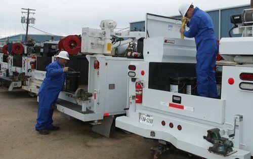 Industrial Equipment Service Trucks, Shreveport LA & Longview TX
