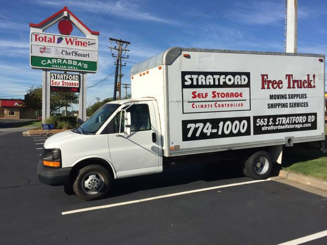 Free Truck with Stratford Storage