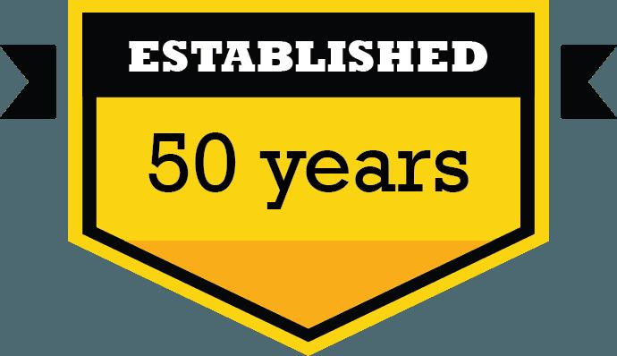 Established 50 years