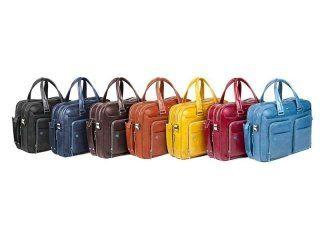 fila di borse da donna colorate