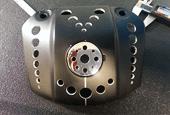 Custom Harley-Davidson headlight mount
