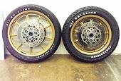 Harley-Davidson tires and wheels