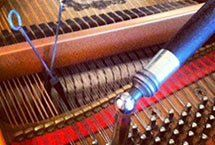 A piano being tuned