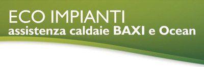 ECO IMPIANTI assistenza caldaie BAXI e Ocean_ logo
