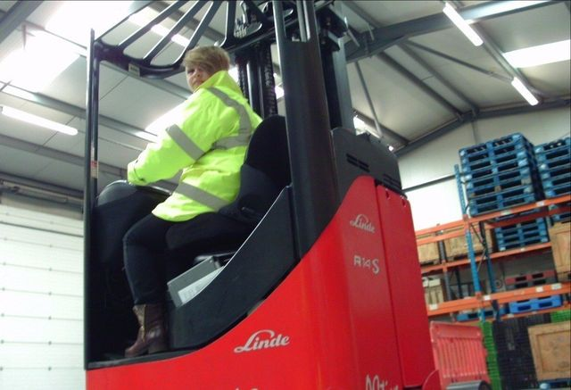 Forklift driver course