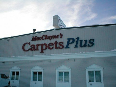 One of our business signs in Fairbanks