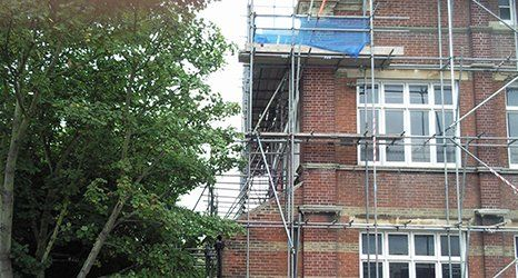 Specialist scaffolding installations