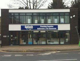 Bathroom showroom - Egham, Surrey - Splash Plumbing & Heating Ltd - Shopfront
