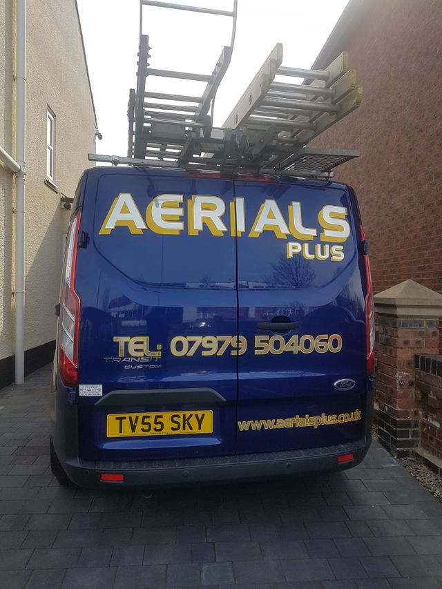 Aerials Plus company logo