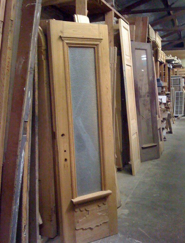 Antique Shutters — Wood Door in New Orleans, LA - Doors New Orleans, LA The Bank Architectural Antiques
