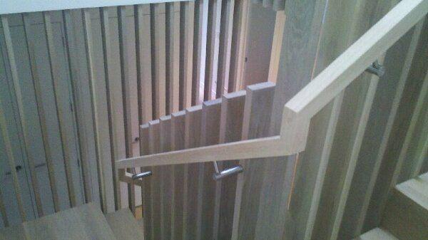 Oak screen