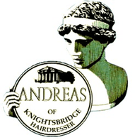 Andreas Of Knightsbridge Hairdresser logo