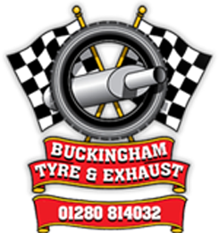 Buckingham Tyre and exhaust logo