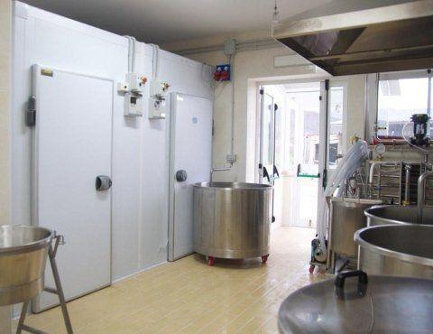 laboratorio del caseificio