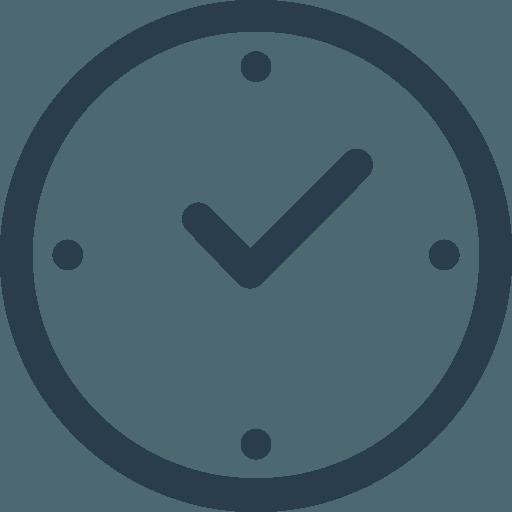 Icône horaires d'ouverture