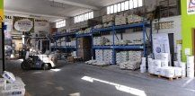 magazzino deposito materiali edili