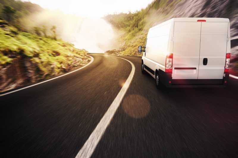 furgone da trasporto merci
