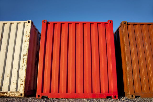 Containers providing long term storage in Westport