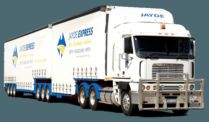 jayde transport company express truck