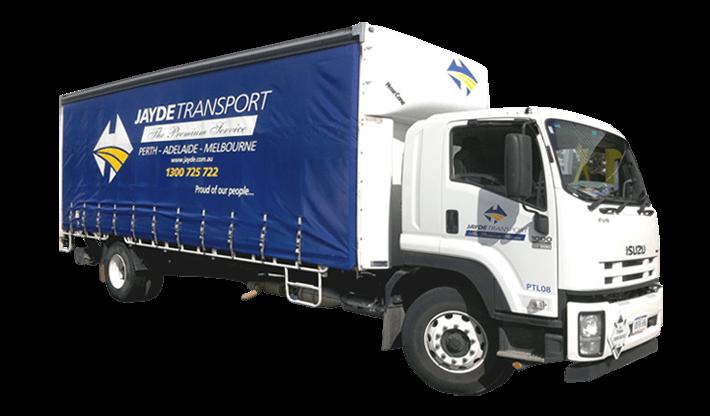 Blue Jayde Transport Truck