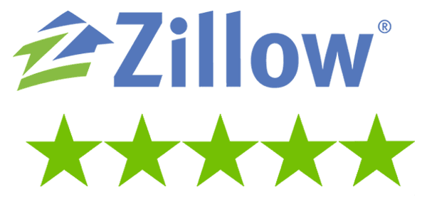 Image result for zillow five star review logo