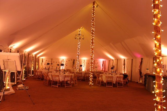 Traditional Canvas Marquees In Somerset