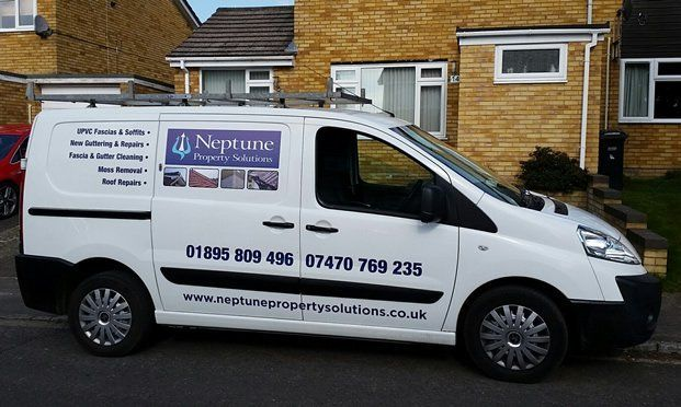 Neptune Property Solutions van