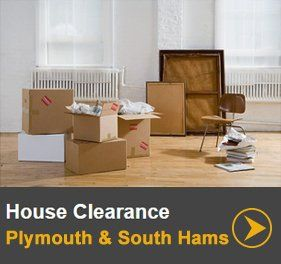 House clearance in Plymouth