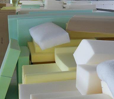 gommapiuma e resine per imbottiture