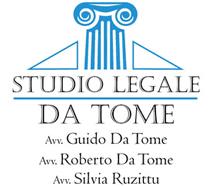 STUDIO LEGALE DA TOME AVV. GUIDO - AVV. ROBERTO - RUZITTU AVV. SILVIA - LOGO