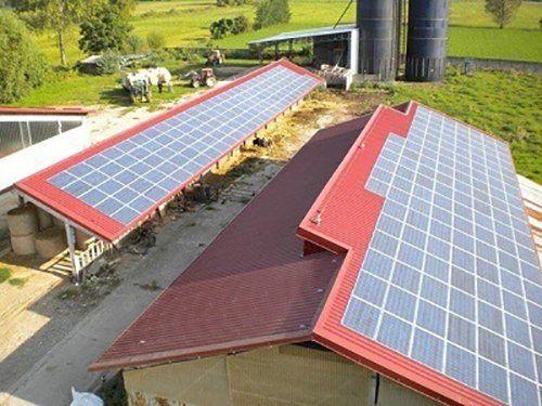 pannelli solari sui tetti