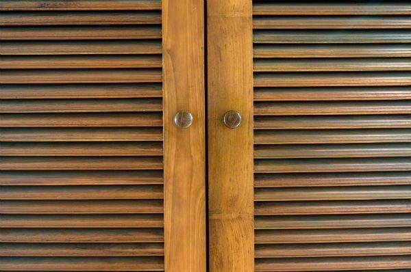 Finestra laminata di legno