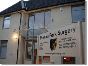 Doctors' surgery - Filton, Bristol - Monks Park Surgery - Surgery