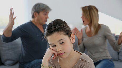 Depressed daughter