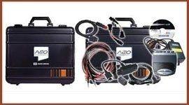 valigetta e utensili per analisi di gas di scarico