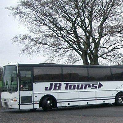 JB Tours bus